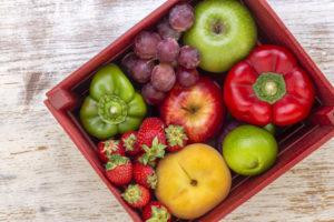 frutas e gluten